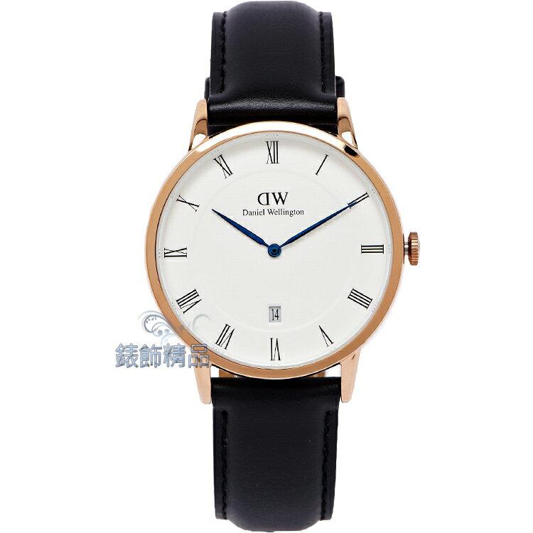 【錶飾精品】現貨Daniel Wellington瑞典DW手錶 DW00100084/1101DW Dapper Sheffield 38mm 玫瑰金 全新原廠正品