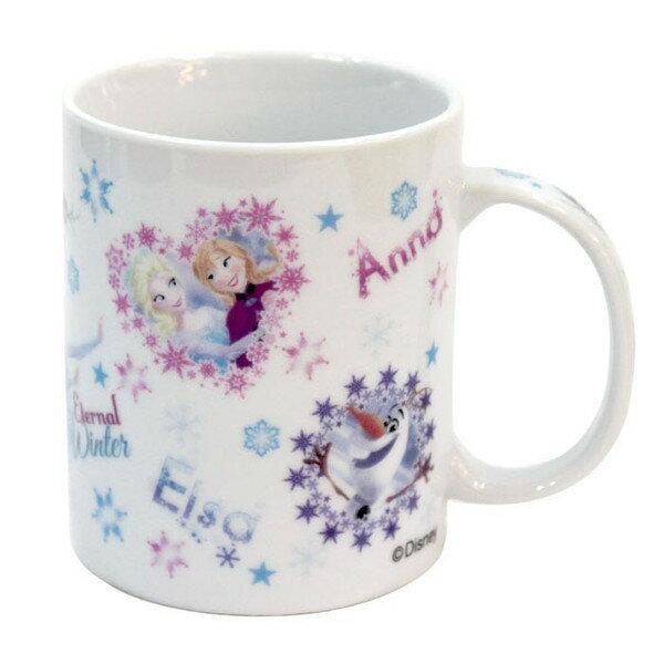 X射線【C227709】冰雪奇緣馬克杯(FZ),陶瓷杯/水杯/玻璃杯/茶杯/咖啡杯/交換禮物/艾莎/安娜/雪寶
