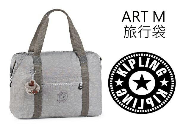 OUTLET代購【KIPLING】旅行袋 斜揹包 肩揹包 媽媽包 灰色 0