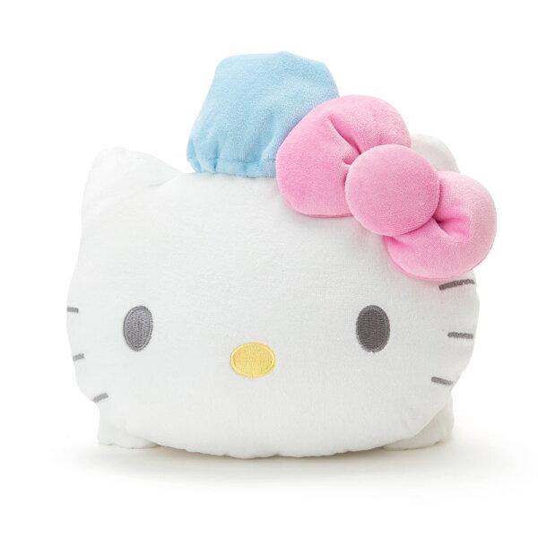 【真愛日本】18042400113造型靠墊-KT睡衣ACK凱蒂貓kitty靠墊抱枕枕頭娃娃玩偶