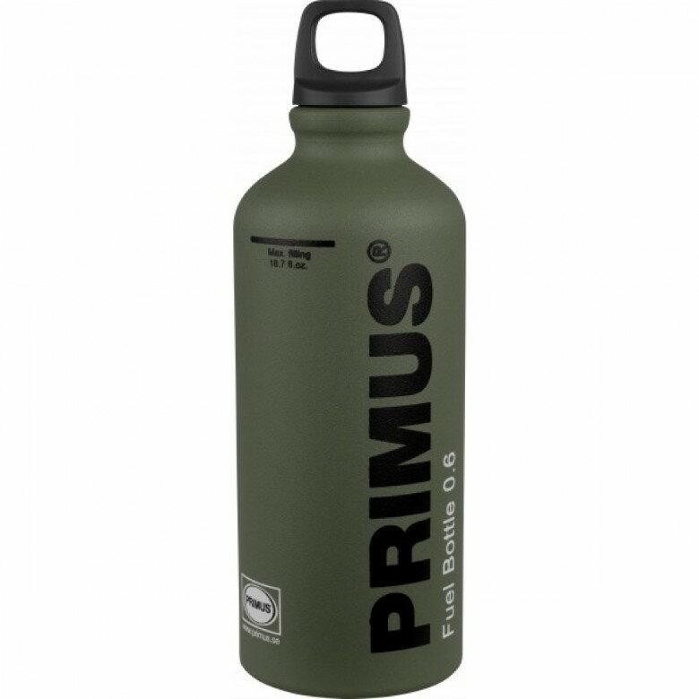 【露營趣】中和 瑞典 Primus 721957 Fuel Bottle 0.6L 森林綠 氣化爐 汽化燈 燃料瓶