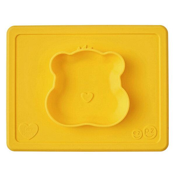 美國 EZPZ HAPPY MAT Care Bears 聯名餐碗/餐具/安全/無毒/矽膠 貪玩熊