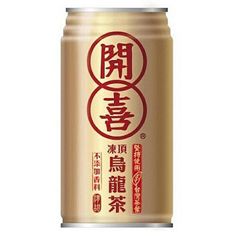 開喜 凍頂烏龍茶-有糖 340ml【康鄰超市】