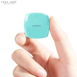 Free Shop 超大容量20000mAh迷你行動電源 雙USB輸出充電 支援所有手機型號 超薄快充【QCMG42000】