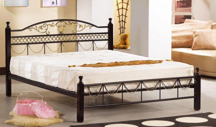 【尚品家具】JF-587-3 艾爾3.5尺單人鐵床(不含床墊)