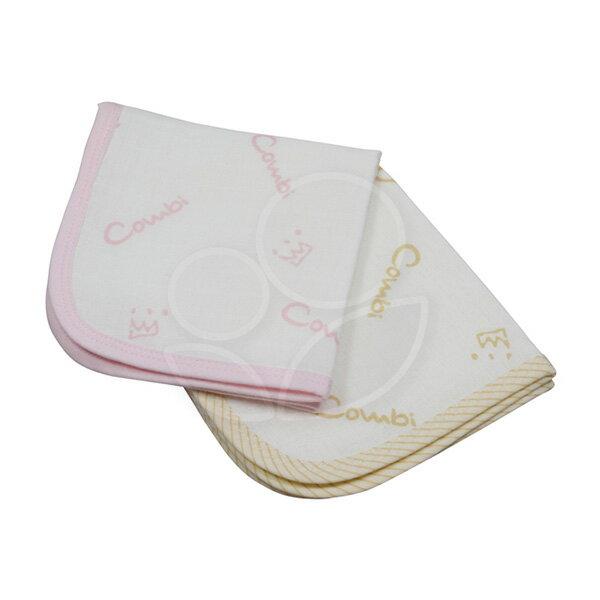 Combi康貝經典六層紗小方巾(2入)-3色可選【悅兒園婦幼生活館】