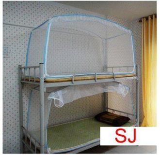 學生蚊帳 方頂蒙古包蚊帳1米宿舍上下鋪拉鏈蚊帳蒙古包蚊帳90x190