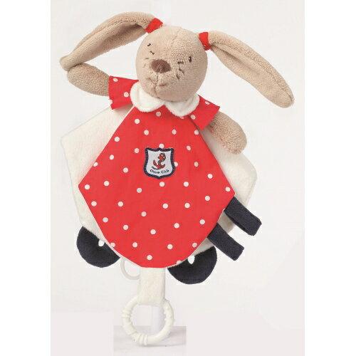 babyFEHN芬恩 - 海洋樂園航海兔安撫布偶奶嘴巾 0