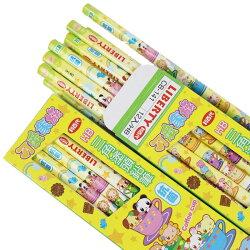 利百代抗菌鉛筆 CB-141 可愛家族三角塗頭鉛筆(HB)/一大盒12小盒(一小盒12支)共144支入{定60}MIT製