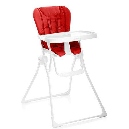 美國JoovyNewNook折疊兒童餐椅-紅色★衛立兒生活館★