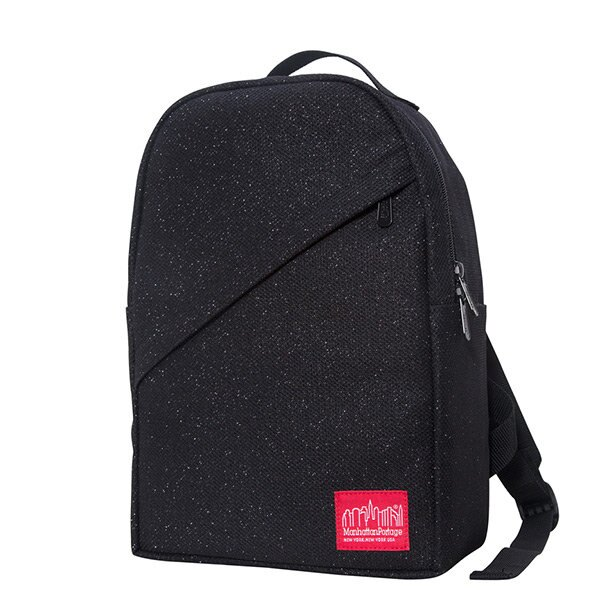 【EST】Manhattan Portage Midnight Hunters Backpack 星夜 斜口 後背包 黑 [MP-1905-MDN-BLK] H1031