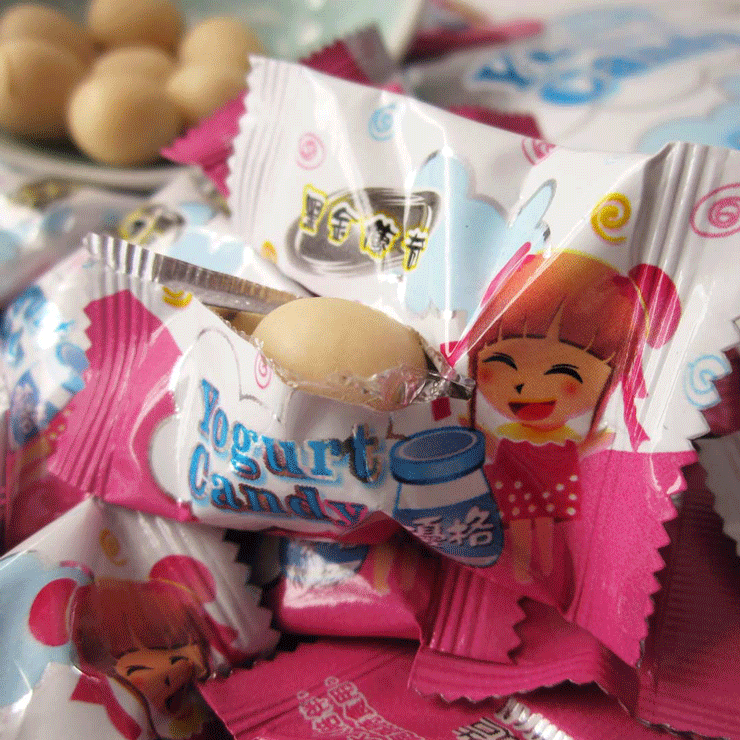 【黑金傳奇】優格軟糖(奶素,62g) 4