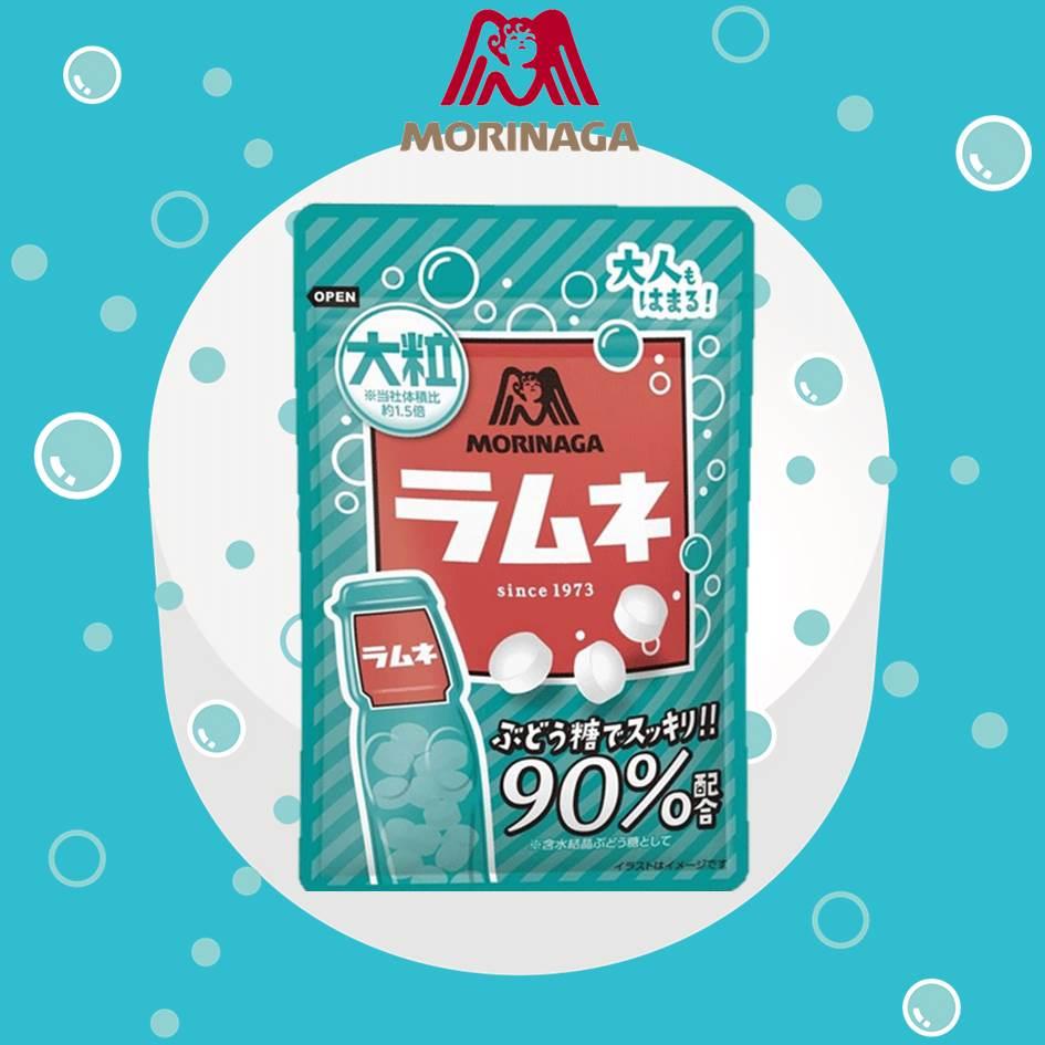 【MORINAGA森永】大粒彈珠汽水糖 41g ラムネ 日本進口糖果▶全館滿499宅配免運