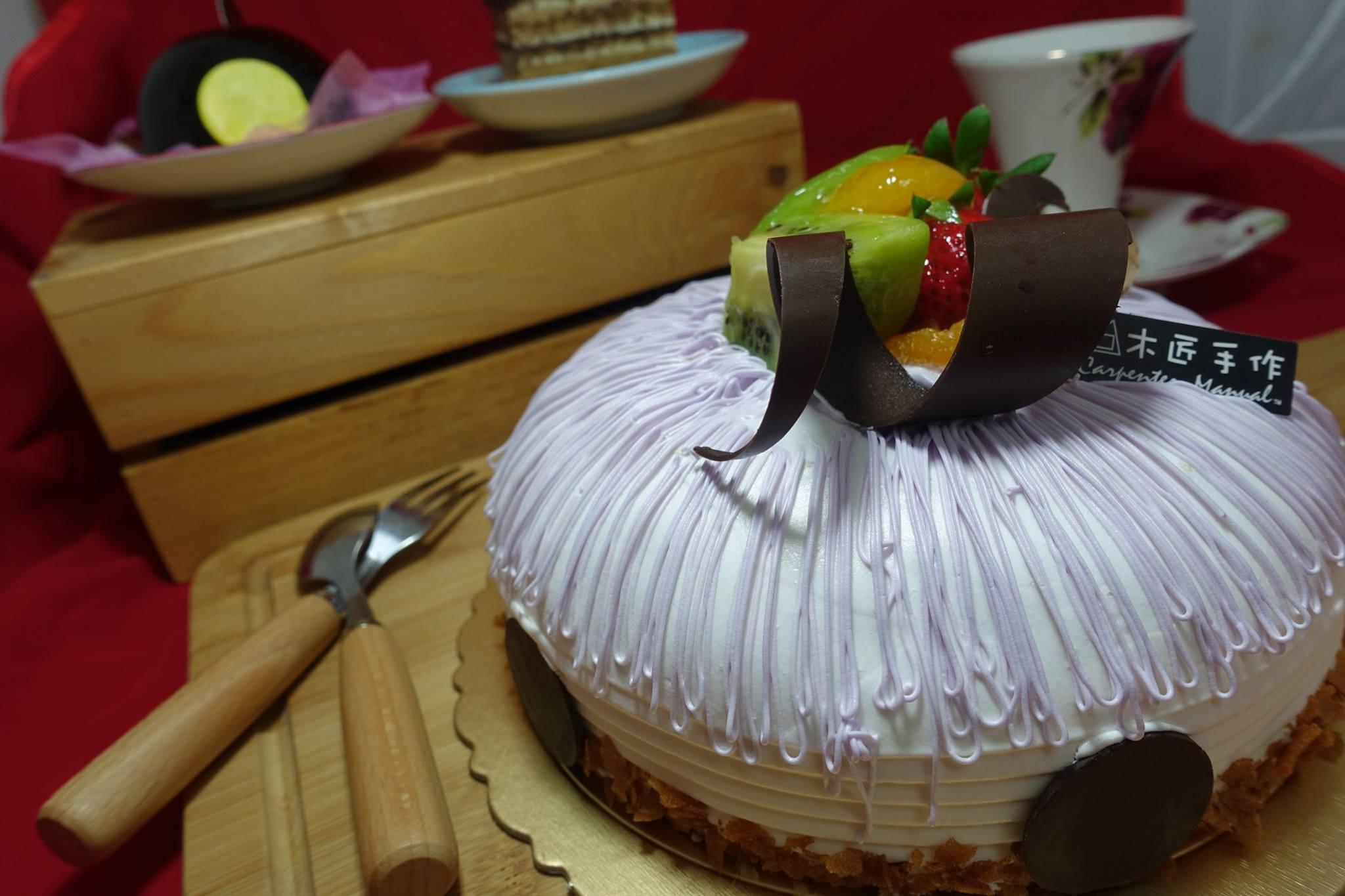 木匠手作★客製化生日蛋糕(8吋) 9