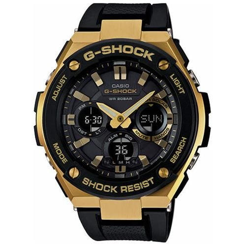 Casio G-Shock G-Steel Solar Power Ana-Digi Watch GSTS100G-1A