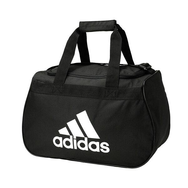 美國百分百:美國百分百【全新真品】Adidas旅行袋愛迪達大容量運動行李手提肩背側背包男包女包黑色A292