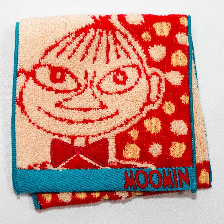 MOOMIN 嚕嚕米 小不點亞美 私密包 口袋巾 毛巾 手帕 日本帶回正版品