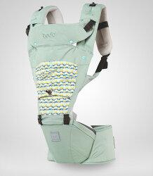 todbi Air Motion Blossom Hipseat Carrier-淺綠色(有 機棉安全氣囊坐墊式揹帶/背巾/揹巾)★衛立兒生活館★