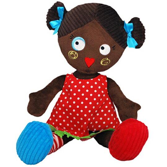 【全新品3折出清】法國【 DEGLINGOS 】人型布偶 - 寶麗 Les Mistinquettes Pop Lucette