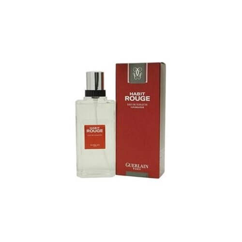 Habit Rouge by Guerlain 3.4-ounce Men's Eau de Toilette Spray 1