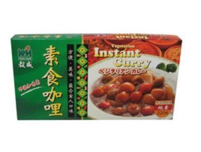 穀盛 素食咖哩 220g 盒  110  105