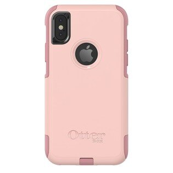 貝殼嚴選:【貝殼】『OtterBox』iPhoneXCommuterSeries通勤者系列-粉色