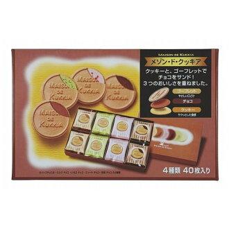 夢野40枚綜合法蘭酥禮盒 366g