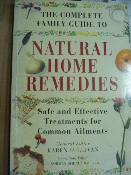 【書寶二手書T3/原文書_QFU】The Comp…Natural Home Remedies