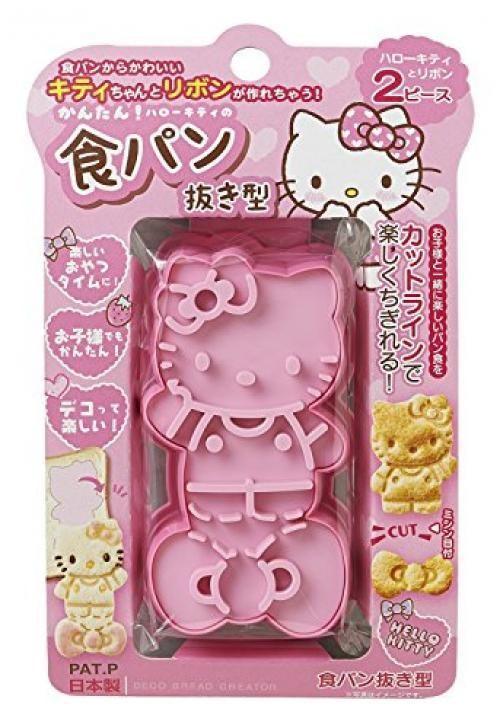 【真愛日本】15090400009 餅乾壓模-人型蝴蝶結粉 三麗鷗 Hello Kitty 凱蒂貓 模組 模具 烘培用品