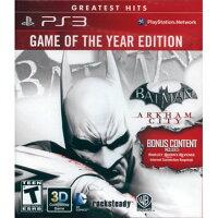 蝙蝠俠與超人周邊商品推薦PS3 蝙蝠俠 阿卡漢城市年度合輯版 英日文美版(紅盒)