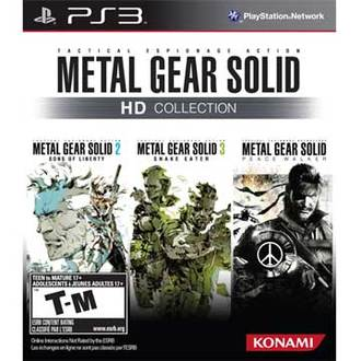 PS3 潛龍諜影 特攻神諜 三合一HD高解析度合輯 英文美版 METAL GEAR SOLID HD