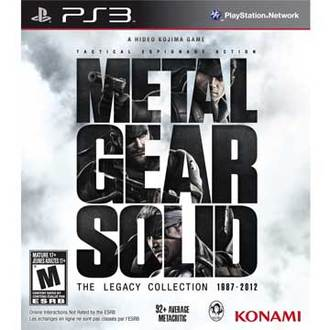PS3 潛龍諜影:傳奇合輯 英文美版 Metal Gear Solid: The Legacy Collection