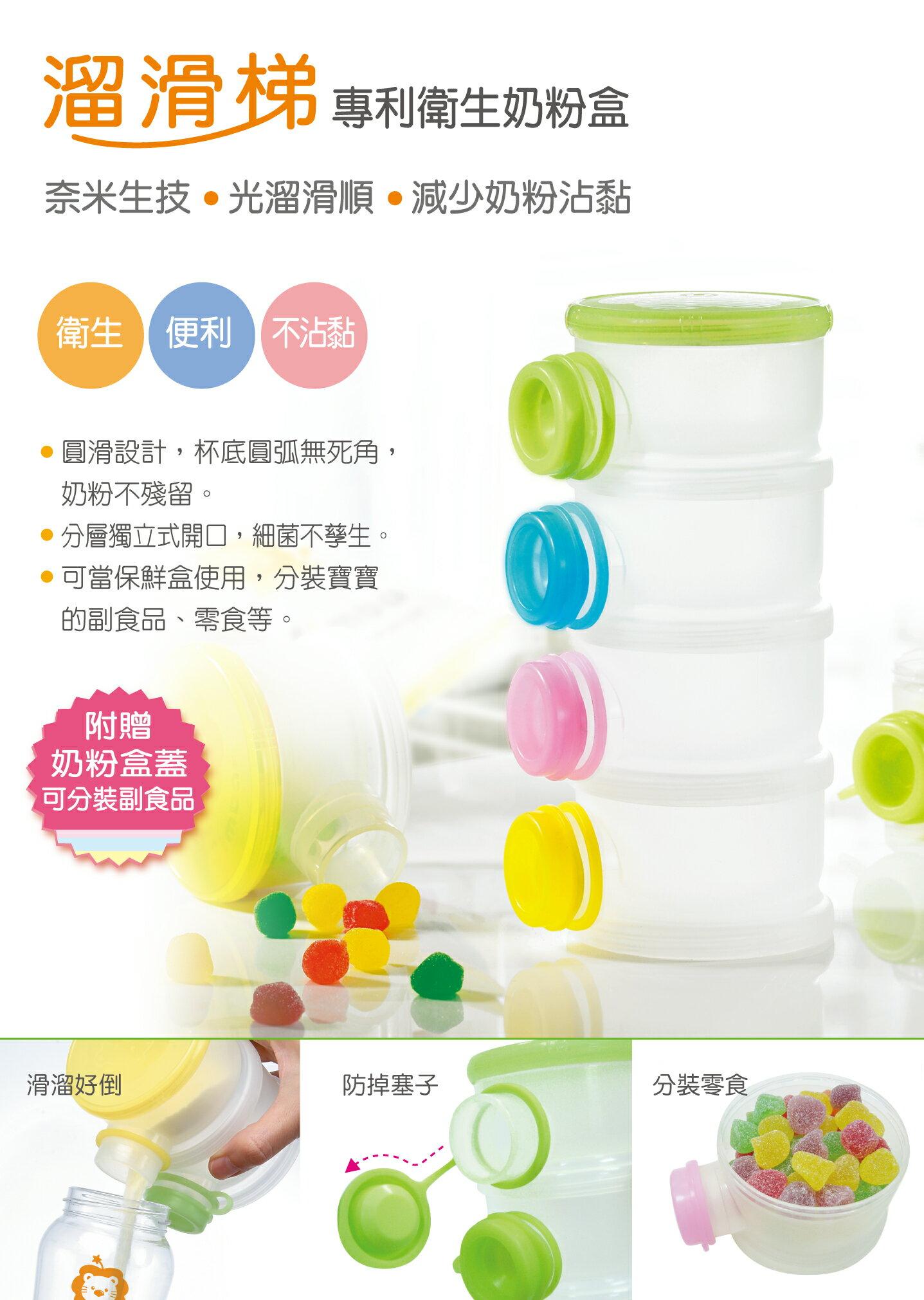 『121婦嬰用品館』辛巴溜滑梯專利奶粉盒 3