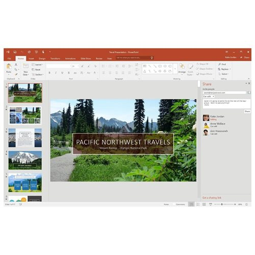 Microsoft Office 2016 Home & Business - 1 PC - Medialess - Office Suite Box - PC - English 3