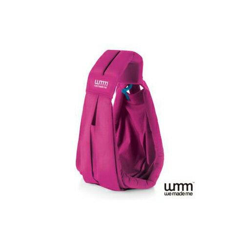 飛炫寶寶【英國WMM】Soohu五式親密揹巾-桃紅色