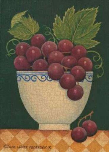 Cup O Grapes Poster Print by Diane Pedersen (10 x 14) ec67ffe61ad1bd400872ee97ce4c610e