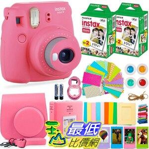 Fujifilm Instax Mini 9相機+富士Instax膠卷(40張)[美國代購]