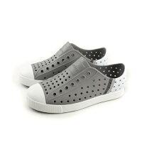 native 輕量懶人鞋、休閒防水鞋到native JEFFERSON BLOCK 洞洞鞋 灰色 中童 童鞋 12100102-8517 no427