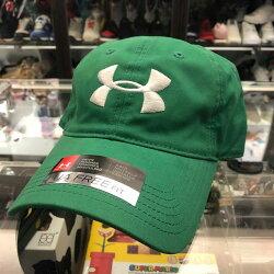 現貨 BEETLE UNDER AMOUR CAP 綠色 白 LOGO 經典 老帽 棒球帽 可調式 男女款