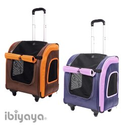 《IBIYAYA依比呀呀》新LISO後背平行寵物拉桿包FC1705(2款)/寵物外出