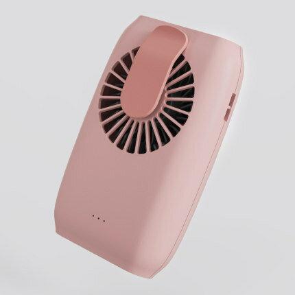 腰掛風扇 普芝掛腰風扇掛脖風扇 學生USB充電迷你小風扇可攜式小型隨身風扇『CM37459』