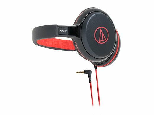 鐵三角 audio-technica ATH-S600(紅色) 攜帶式後戴耳機 (鐵三角公司貨)