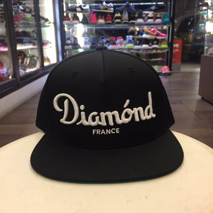 BEETLE PLUS 西門町 全新 DIAMOND SUPPLY CHAMPAGNE BLACK CAP 黑 帽 D14DHA18BLK DA-16 0