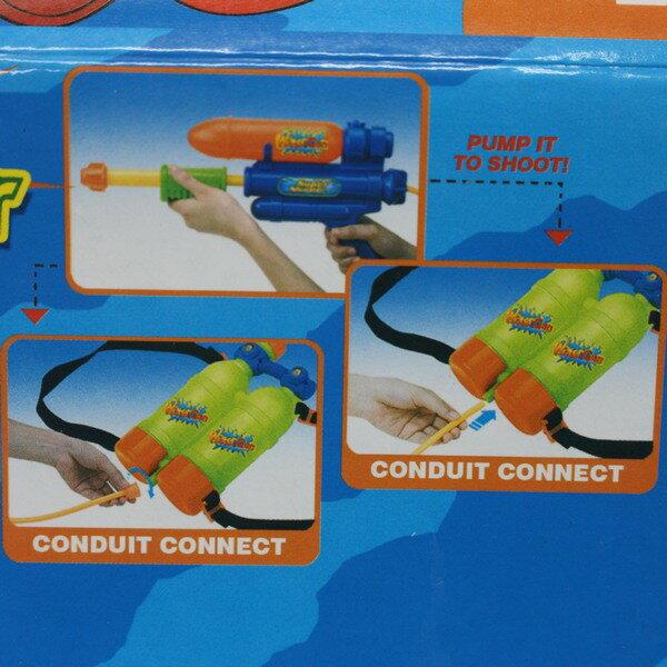 青蛙背包水槍 加壓式強力水槍 槍長27cm / 一個入 { 促199 }  後背式水槍 可背式動物造型~生043-21(K2550) 2
