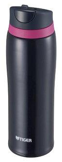 【日本直輸入-預購】TIGER虎牌保溫杯-彈蓋式480CC 不鏽鋼真空~ 日本限定款 - 黑色