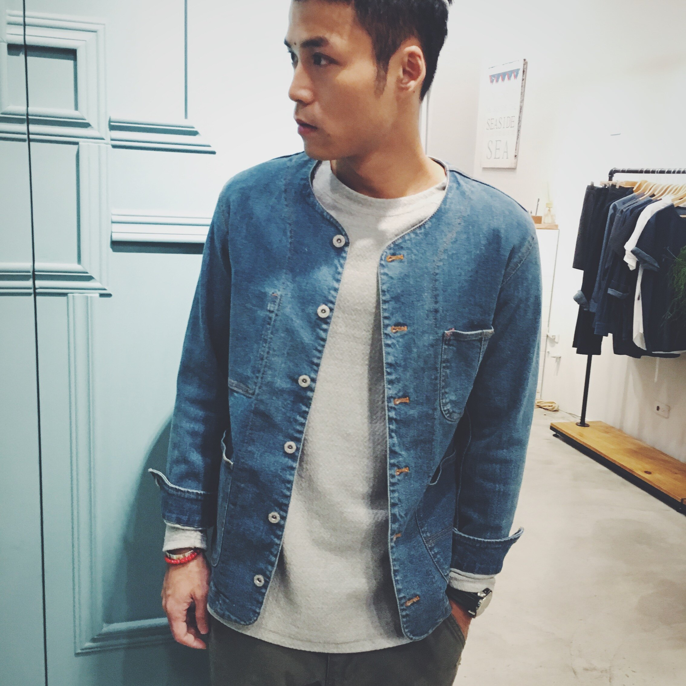 【CANVAS】denim jacket 1