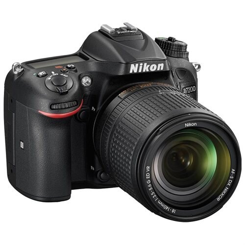 "Nikon D7200 24.2 Megapixel Digital SLR Camera Body Only - Black - 3.2"" LCD - 16:9 - i-TTL - 6000 x 4000 Image - 1920 x 1080 Video - HDMI - PictBridge - HD Movie Mode - Wireless LAN International Version 2"