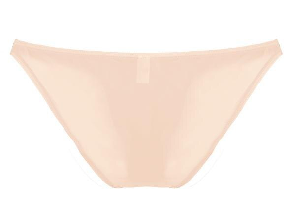 Men Brief Breathable Ice Silk Triangle Underpants Solid Brief 4