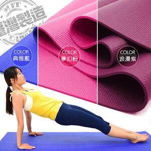 台灣製造6MM瑜珈墊(PVC運動墊遊戲墊.止滑墊防滑墊.寶寶爬行墊軟墊.睡墊野餐墊野餐地墊子.沙灘墊海灘墊.推薦哪裡買)P273-814B