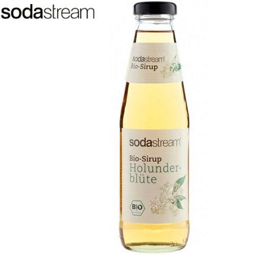 Sodastream 接骨木花糖漿 氣泡水機 汽水機